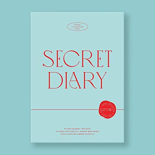 [サイン写真付] IZ*ONE - Spring Collection 'SECRET DIARY' (カレンダーパッケージ)[+サインポラロイド形写真][+ポストカード][+ステッカー]