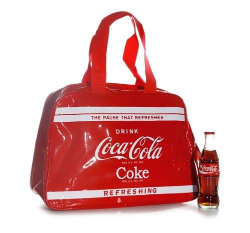 Cult Handtasche Coca Cola Rot Henkeltasche Shopper Groß