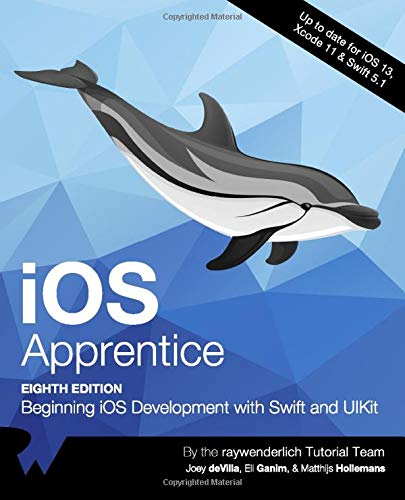 iOS Apprentice (Eighth Edition): Beginning iOS Development with Swift and UIKit