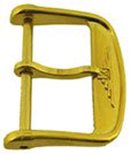 Authentische Longines Uhrenarmband Schnalle 18mm Vergoldet B19866