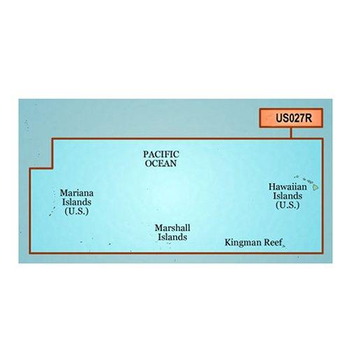 GARMIN VUS027R HAWAIIAN ISLAND MARIANA IS BLUECHART G2 VISION