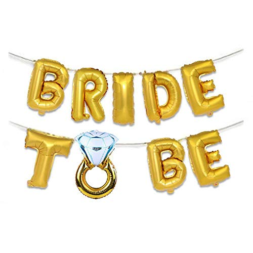 Fdit 16 inch ballonnen Engelse bladzijden bruiloft romantische ring diamant verlovingsring decor