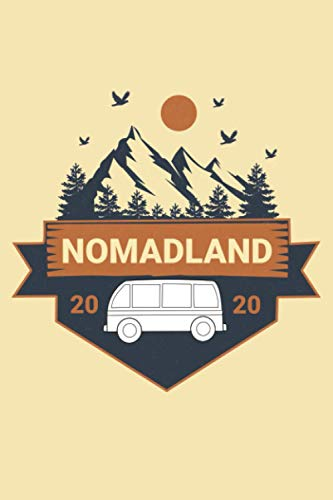 Nomadland: Notebook,Diary,notepad,journal for man and woman as a gift