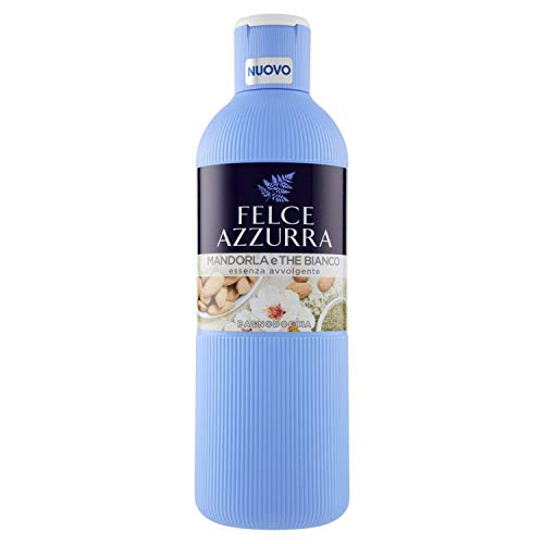 Felce Azzurra - Bagnodoccia Mandorla e The Bianco, Profumo Avvolgente, Idrata la Pelle - 650 ml