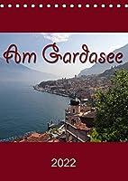 Am Gardasee (Tischkalender 2022 DIN A5 hoch): Impressionen vom Gardasee (Monatskalender, 14 Seiten )