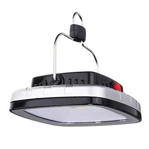 Lanterna da Campeggio Portatile Portatile Portatile, Luce da Campeggio Ricaricabile USB, Luce Super Luminosa Tenda, Lampada da Campeggio all'aperto Lampada Solare USB, per Campeggio,Nero