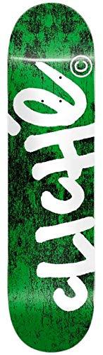 Cliché Hadwritten Green Pro Skateboard-Brett, 20,3 cm