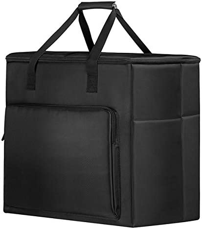 Bolsa de Transporte para PC de Escritorio, Bolsa portátil de almacenamientopara Accesorios de computadora, Caja del procesador Principal, Monitor, ...