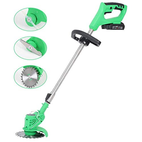 Best Buy! SWTY Portable Brush Cutter, 650W Copper Wire Motor / 900-1200mm Retractable / 24V6ah 36V8a...