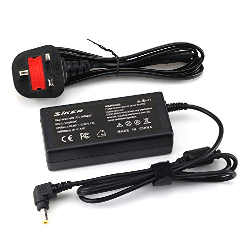 65W AC Adapter Laptop Charger for Toshiba Satellite C855-s5214 C855-s5347 C855-s5236 C875-s7304 C875-s7303 L855-s5240 L855-s5405 P855-s5102 P855-s5312 P855-s5200 Power Supply Cord