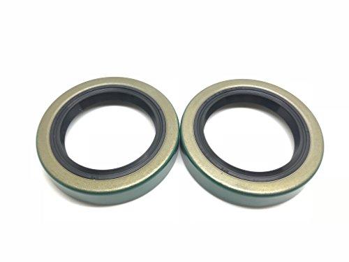 (Pack of 2) WPS (TM) Trailer Axle Hub Wheel Grease Seal 171255TB 3500# E-Z Lube Axle 1.719'' X 2.565'' 10-19