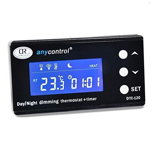 OCS.tec Digitaler Thermostat Thermo Control Zeitschaltuhr Alarm Aquarium Terrarium Reptilien Fische *externes Display* TXA