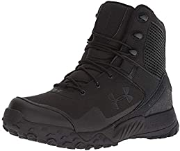 Under Armour Women's Valsetz RTS 1.5 Military and Tactical Boot, Black (001)/Black, 7