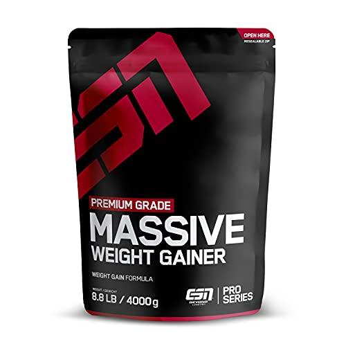 ESN Massive Weight Gainer, Vanilla Ice Cream, 4000g