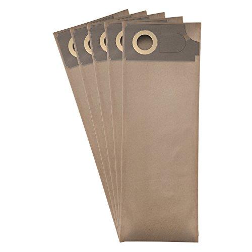 ✧WESSPER® Staubsaugerbeutel für Columbus BS 360 (5 Stück, Papiersäcke)