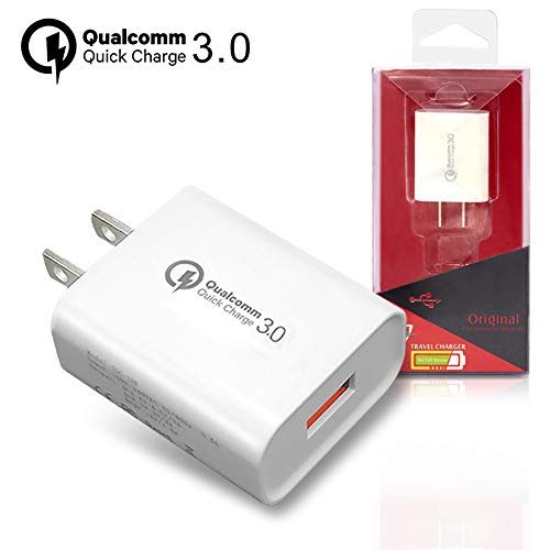 Waliwell GiraVic Cargador Rápido de Pared, USB Quick Charge 3.0 Type, 18W Cargador de Red para Celular,…