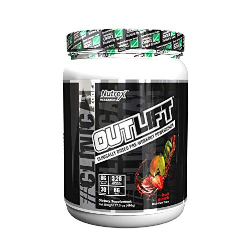 Outlift Clinically Dosed Pre Workout Powerhouse