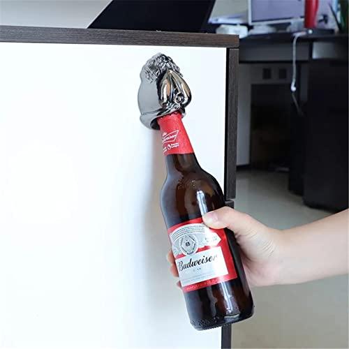 QinWenYan Apri Bottiglia Apriscatole Creativo Apriscatole Vintage a Parete apribile in Stile antiquariato for Bar a Domicilio Utensili da Cucina per Casa (Colore : Black, Size : One Size)