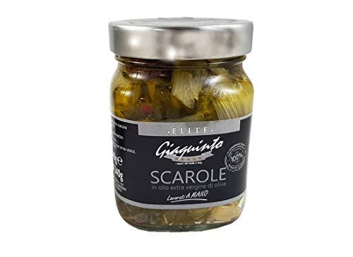3 barattoli elite prodotti selezionati conserve Giaquinto (SCAROLE)