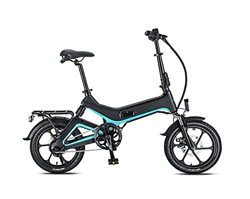 GUHUIHE Bici eléctrica Plegable de 20 Pulgadas con 36V 8.7Ah Buit-in extraíble batería de Iones de Litio