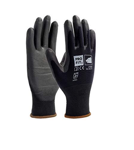 Pro Fit 12 Paar - Soft-PU-Handschuh, Schwarz 8