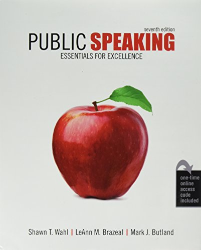 Public Speaking: Essentials for Excellence