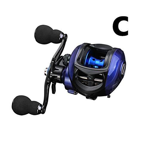 HEQIE-YONGP Carretes de Pesca Baitcasting Reel 7.2: 1/8.1: 1/6.3: 1 Carrete de Pesca Carrete de Aluminio de Agua Dulce 8 Kg Arrastre Fishing Bobina Accesorios de Pesca Carrete Giratorio