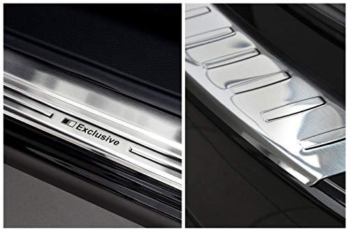 tuning-art EX102-L104 Ladekantenschutz und Einstiegsleisten Fahrzeugspezifisch
