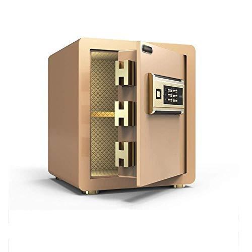 DXYSS Caja Fuerte de Casa Seguridad Electrónica Segura Digital Caja a Prueba de Fuego en la Pared un Anclaje Seguro, con la función de Alarma Todo Bloqueo de Acero Cash Box Box buzón de Documentos