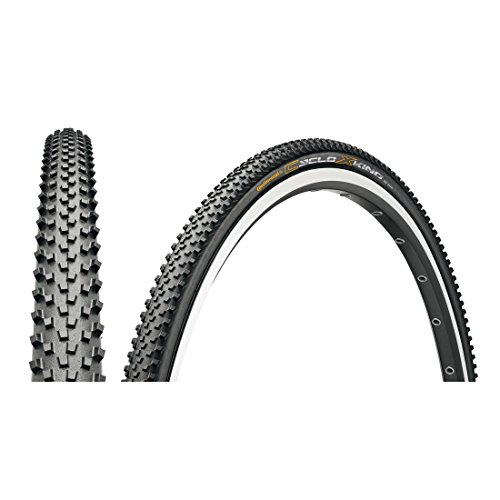 Continental Cyclox-King Fahrradreifen, Schwarz, 28