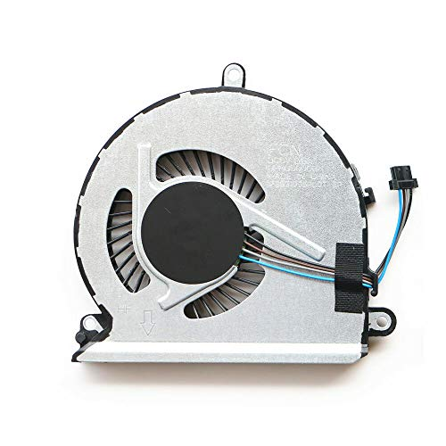 Laptop CPU Cooling Fan Compatible with HP 15-AU 15-AU016CL 15-AU023 15-AU067NR 15-AU091NR 15-AU147CL 15-AU097CL 15-AU010WM 15-AU020WM 15-AU010WM Series Laptop P/N: 856359-001