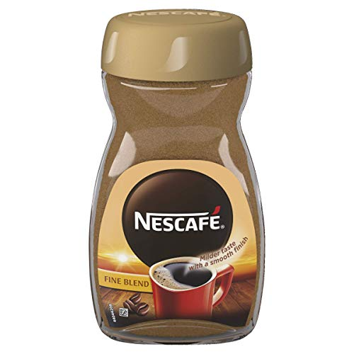 Nescaf? Fine Blend Instant Coffee Jar, 100 g (Pack of 6)