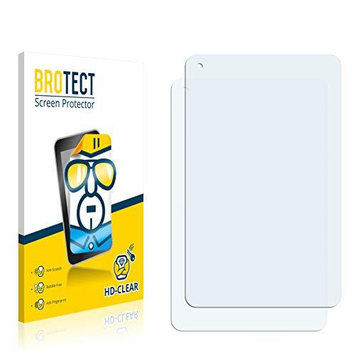 2X BROTECT HD Clear Bildschirmschutz Schutzfolie für Odys Lux 10 (Kristallklar, extrem Kratzfest, schmutzabweisend)