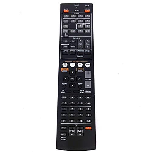 Argerrant Yajie-rc, Fernbedienung RAV491 ZF30320 Fit für Yamaha HTR-4066 RX-V475 AV-Empfänger Radio TV Ersetzen RAV375 RX-V375 RAV494 RX-V479