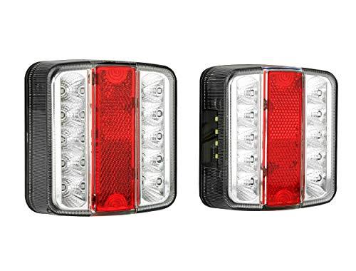 LAS 10103 LED achterlichten set voor aanhanger 12V