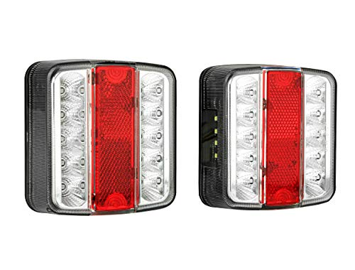 LAS 10103 LED Rückleuchten Set für Anhänger 12V