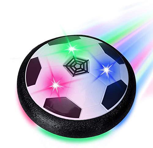 WANGQI Air Power Fußball Kinderspielzeug , Fussball Geschenke Jungen - Hover Ball Spielzeug mit LED-Licht, Indoor & Outdoor Kinder Spiele, Ostergeschenke
