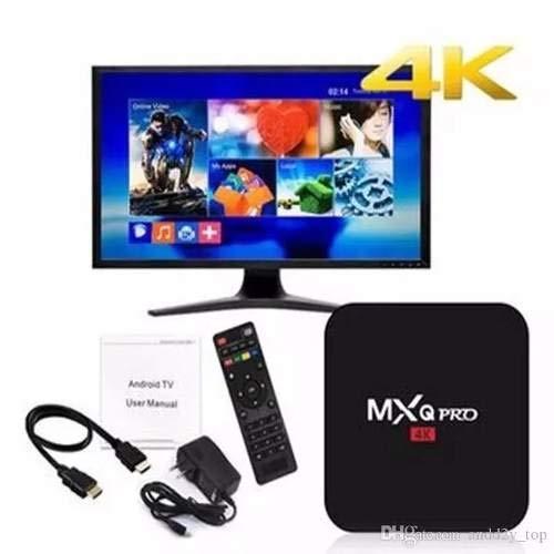 Smart Tv Box Android Canais sem Mensalidades10.1,8K, 5G,4Gb RAM, 64Gb de memória interna