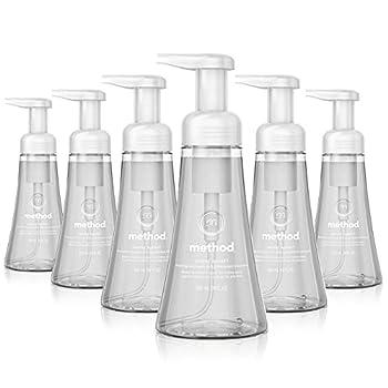 Method Foaming Hand Soap Sweet Water 10 oz 6 pack Packaging May Vary