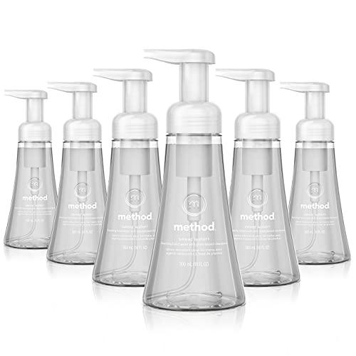 Method Foaming Hand Soap, Sweet Water, 10 oz, 6 pack, Packaging May Vary