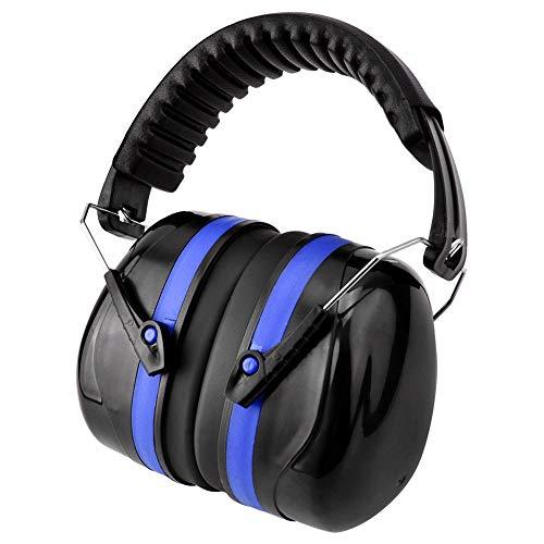 Geräuschreduzierung Sicherheit Gehörschutz, NRR 29dB Professionelle Gehörschutz für Schlaf, Reisen, Schießen (Blau)