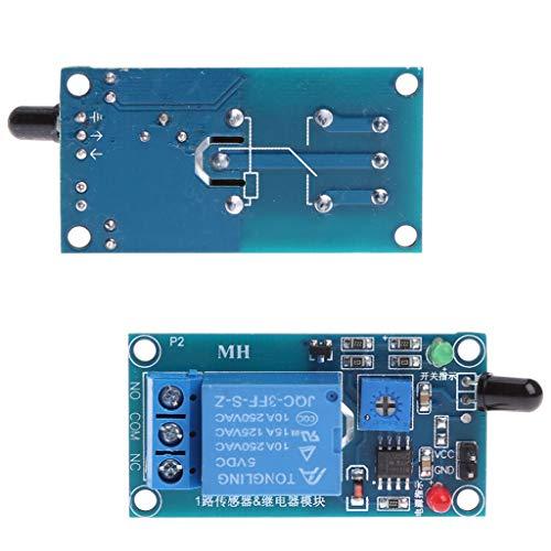 LLAni MK00171 - Módulo de alarma de detección de incendios con sensor de llama de una dirección