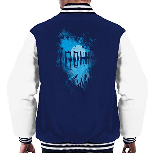 Cloud City 7 Reflectie Moonlit Lake Varsity Jacket voor heren