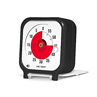 Time Timer Original 3 inch Visual Timer, A 60 Minute Countdown Timer for Kids Classrooms, Meetings, Kitchen Timer, Adults Office and Homeschooling Tool with Silent Operation (Black) (B000JF4250) | Amazon price tracker / tracking, Amazon price history charts, Amazon price watches, Amazon price drop alerts