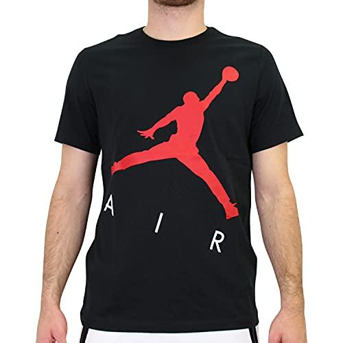 Nike Herren Jordan Jumpman Air T-Shirt Schwarz M