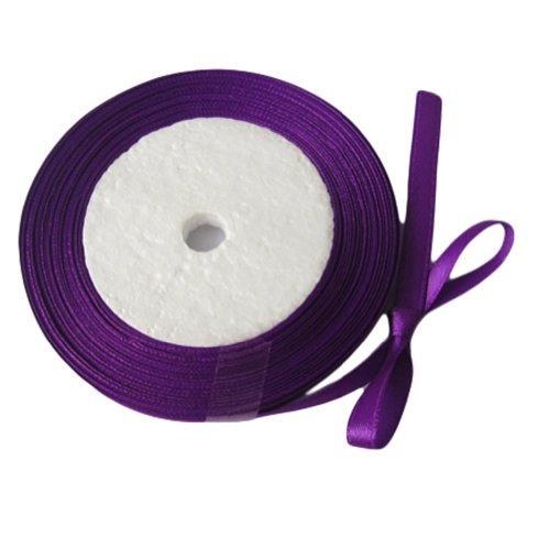 ourwarm Baby® Violet 1/10,16 cm 6 mm de large ruban de satin 25yard Fête d'anniversaire/Craft/mariage Nœud Accueil cadeaux Decor Scrapbooking (de jardin flexible tuyau)
