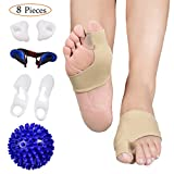 Bunion Corrector and Bunion Care Kit for Tailors Bunion, Hallux...