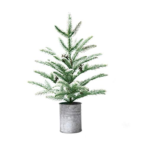 Small Christmas Tree Mini Christmas Decorations Rustic Style 21 inches