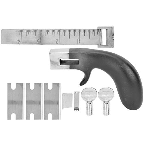 Professional Leather Strap Cutter Tools, DIY Belt Hand Cutting Machine with Aluminium Handle for Leather Craft