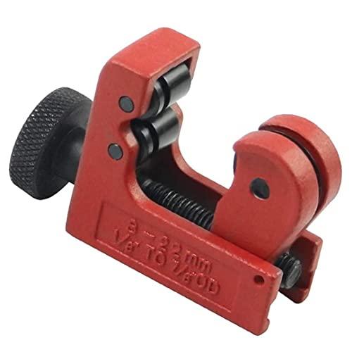 Herramienta de corte de cortador de tubería de aleación de zinc Mini ajustable para corte de cobre de cobre PVC de aluminio rojo para grabado de bricolaje tallado de tallado de molienda
